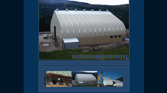 Album - website design for Pre-engineered buildings