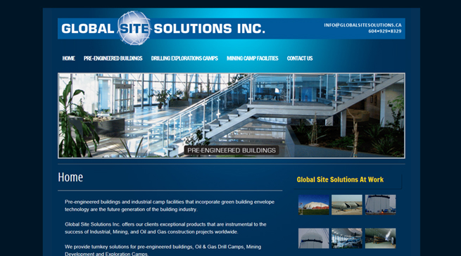 Global Site Solutions – North Vancouver Website Design