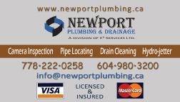 Magnet design for marketing campaign for plumbing company in vancouver